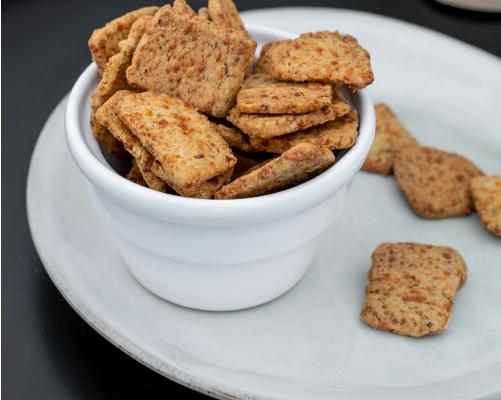 Biscuits apéritifs au comté - Mise en situation