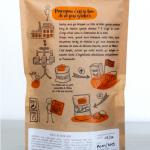Dos du sachet - Biscuits au poivre noir