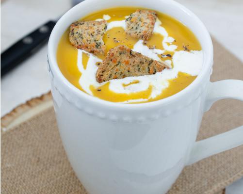 Biscuits apéritifs - Recette dans la soupe