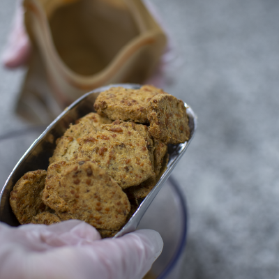 Mise en sachet des biscuits