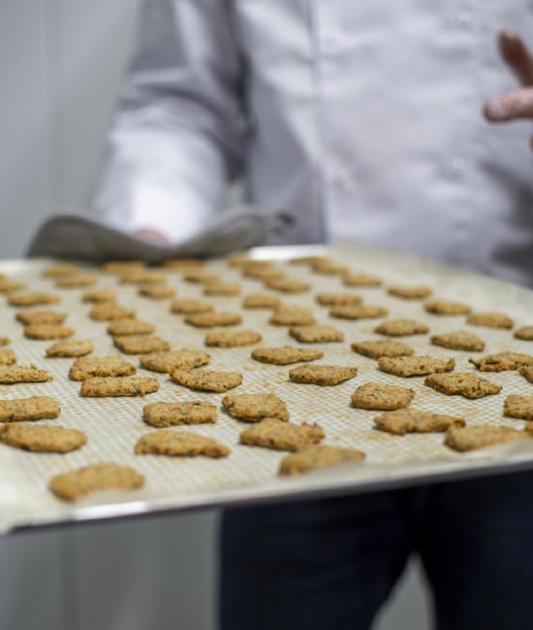 préparation Biscuits les rescapés